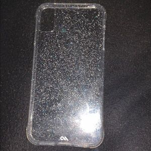 case-mate Other - Case mate xs max case glitter hard shell